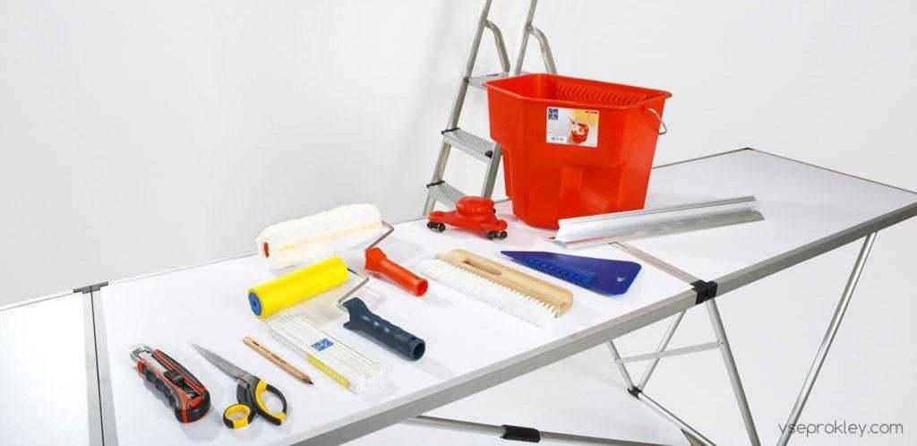 Инструменты необходимые для ремонта
