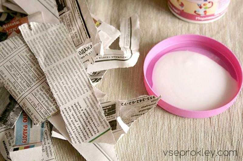 Клей для поделок из бумаги
