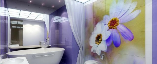 Самоклеющаяся пленка для стен ванной: инструкция по оклейке