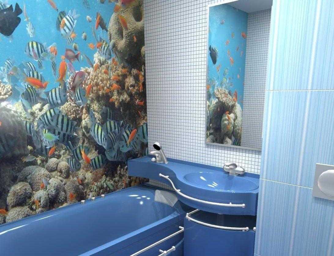 Красивое оформление санитарной комнаты фото