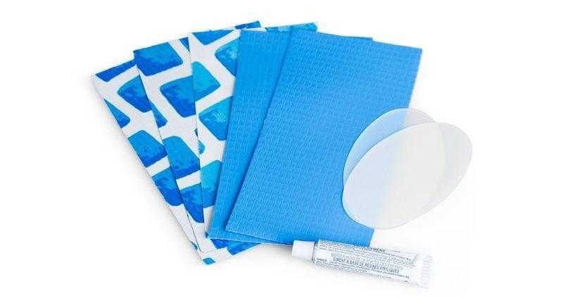 Латки клей и подложки для ремонтирования матраца