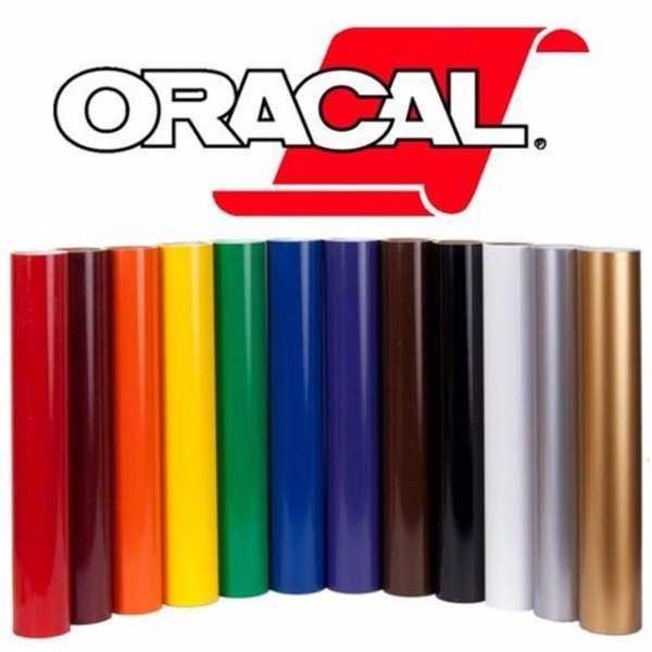 Ассортимент пленочного покрытия Oracal