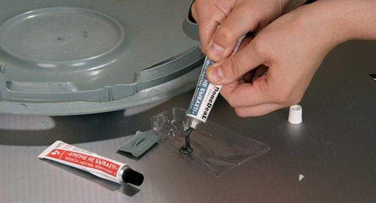 Дан Дил клеевой состав для сваривания трещин на пластике