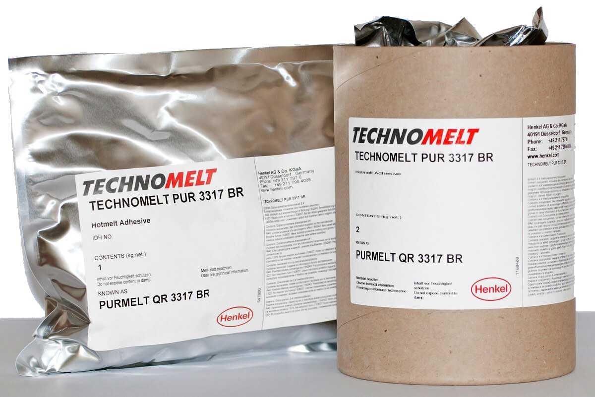 Внешний вид упаковки клея Technomelt PUR фото