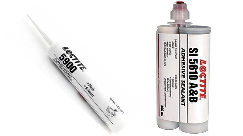 Клеящие смеси Loctite 5900 SI и 5610 A&B для быта и промышленности