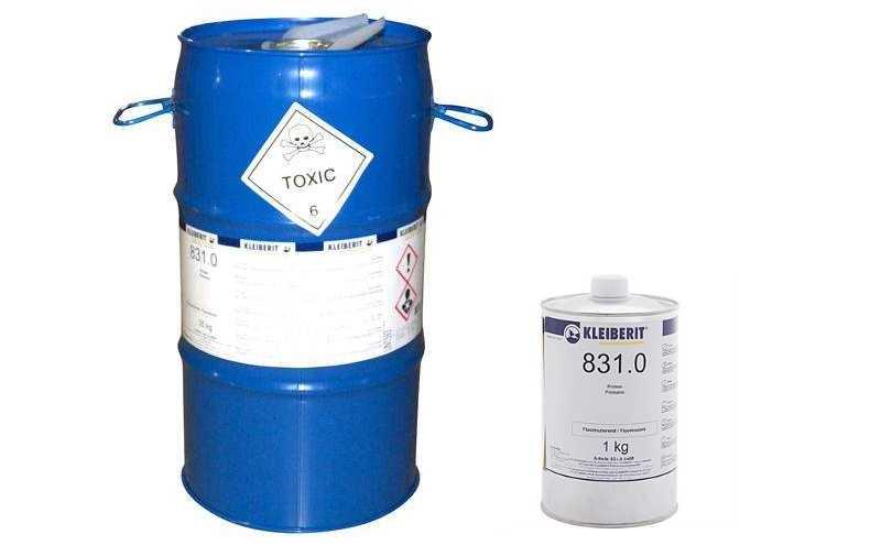 Клеевые смеси для праймирования ПВХ и профилей из металла