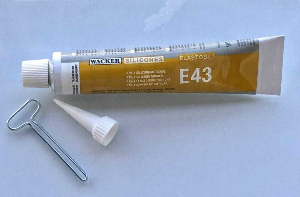 Клей для силикона Эластосил Е43