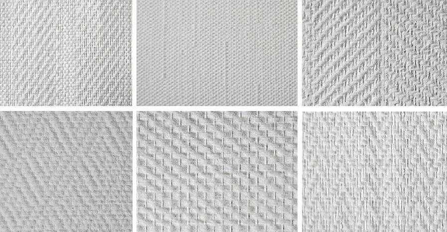 Разновидности стеклотканевых настенных покрытий фото