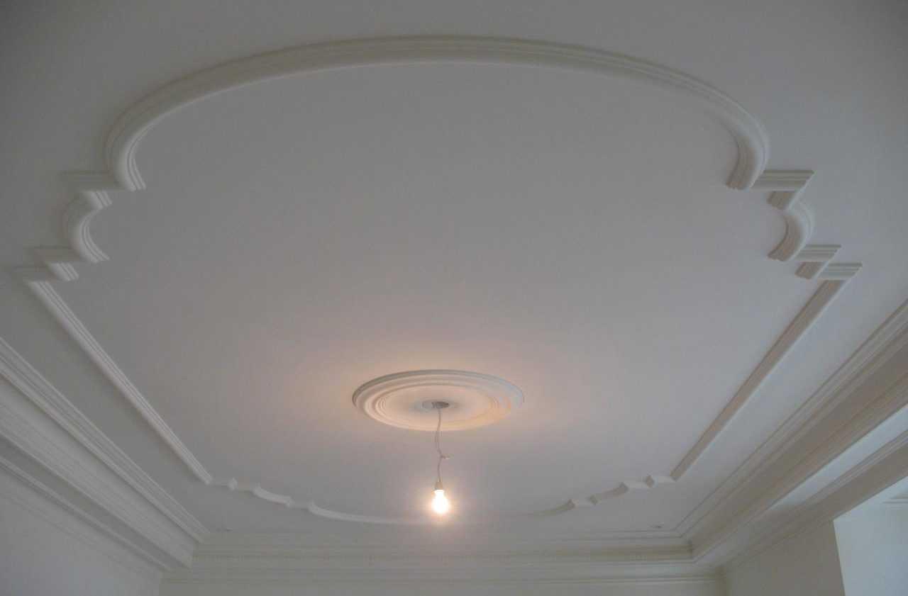 Красивый дизайн потолочной поверхности
