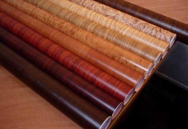 Пленочные покрытия для декора предметов мебели