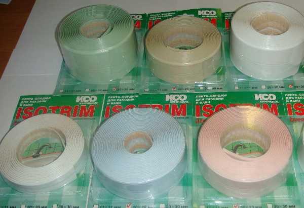 Бордюрные ленты Isotrim для заделки щелей фото