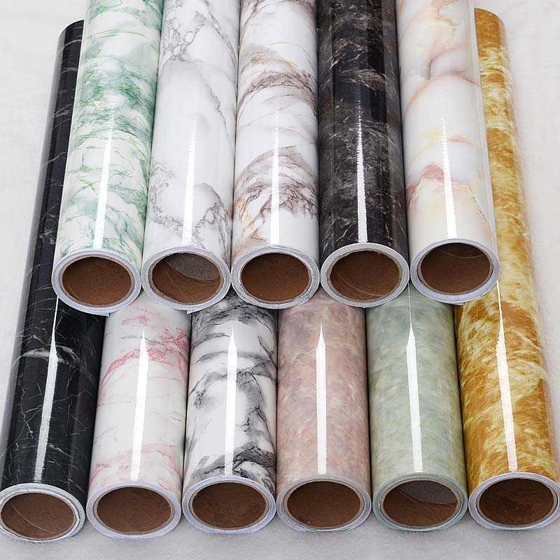 Расцветки ПВХ-пленки для декора меблировки фото