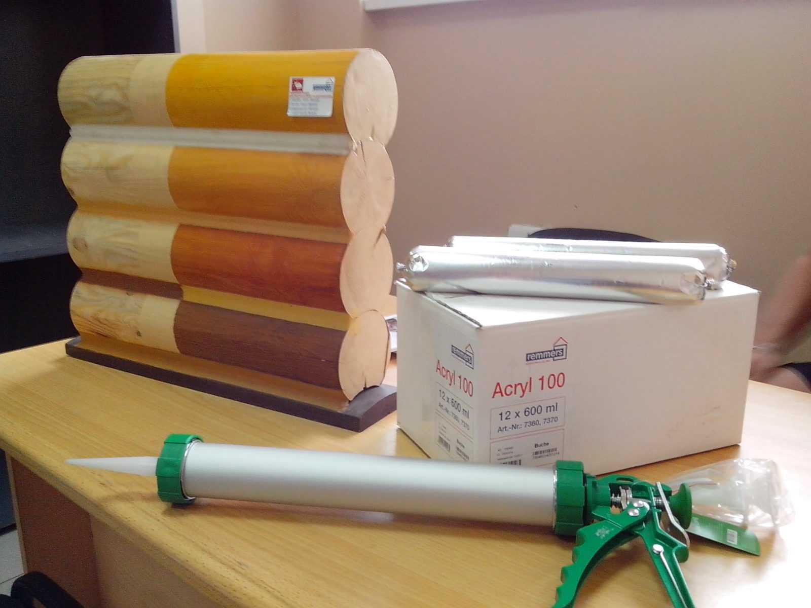 Уплотнитель Acril 100 для древесины фото