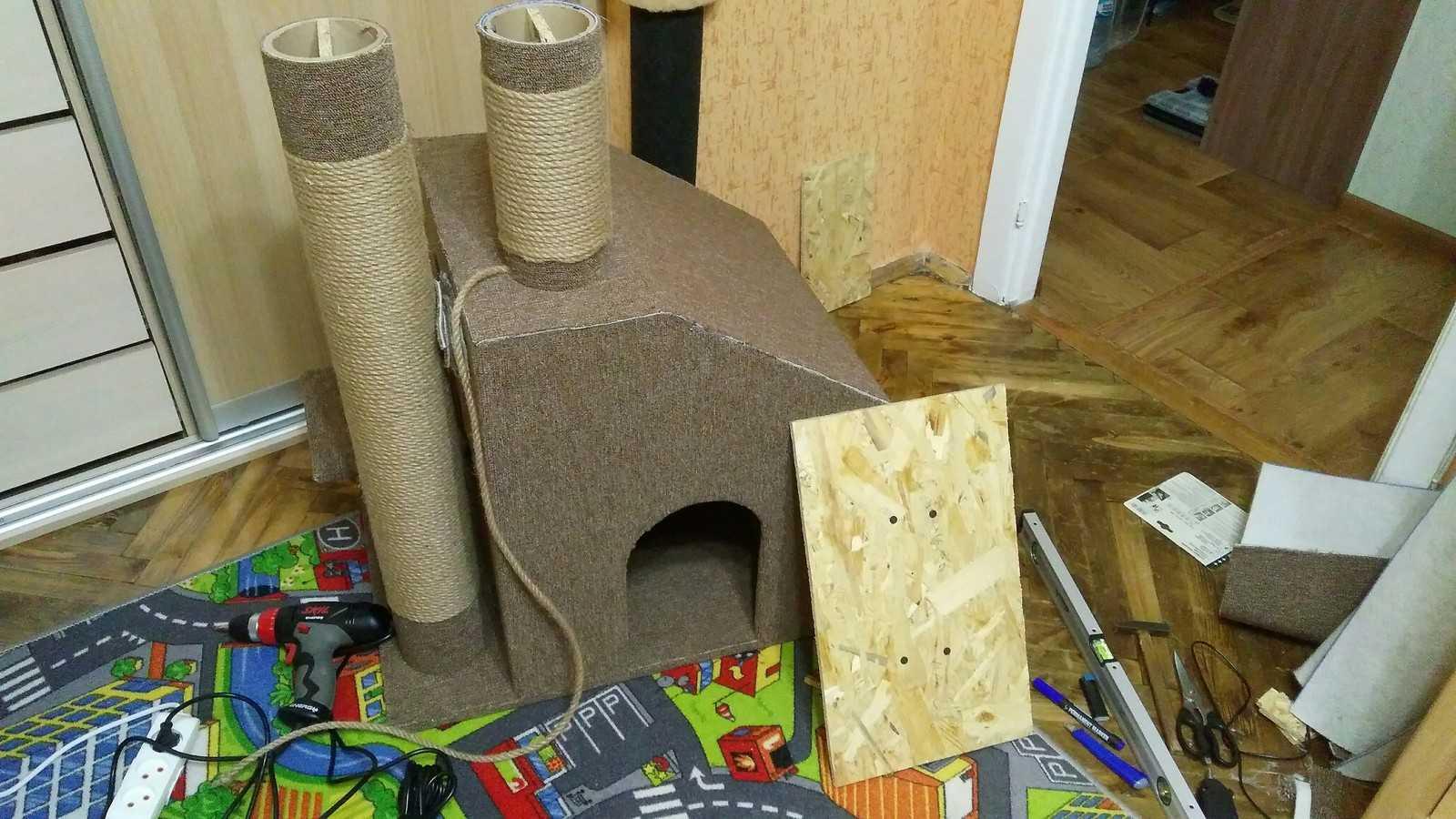 Изготовление аксессуара для кошек своими руками: инструкция