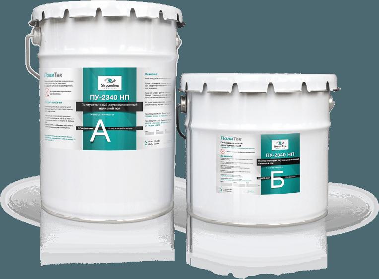 Полиуретановый компонент и отвердитель в ведрах