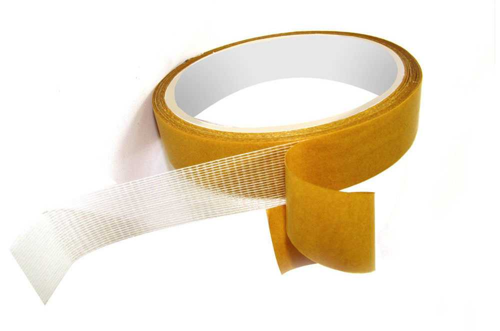 Монтажная клейкая лента на основе ткани