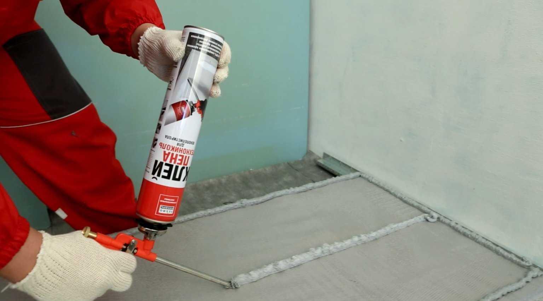 Клей-пена для внутреннего и наружного утепления стен
