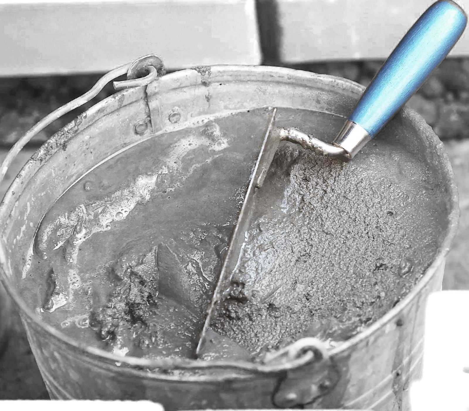 Пескоцементный раствор для штукатурки стен