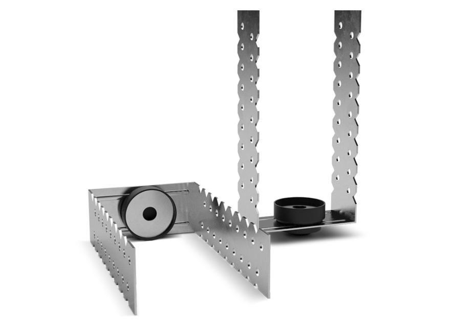 Крепеж для материалов звукоизоляции Максфорте