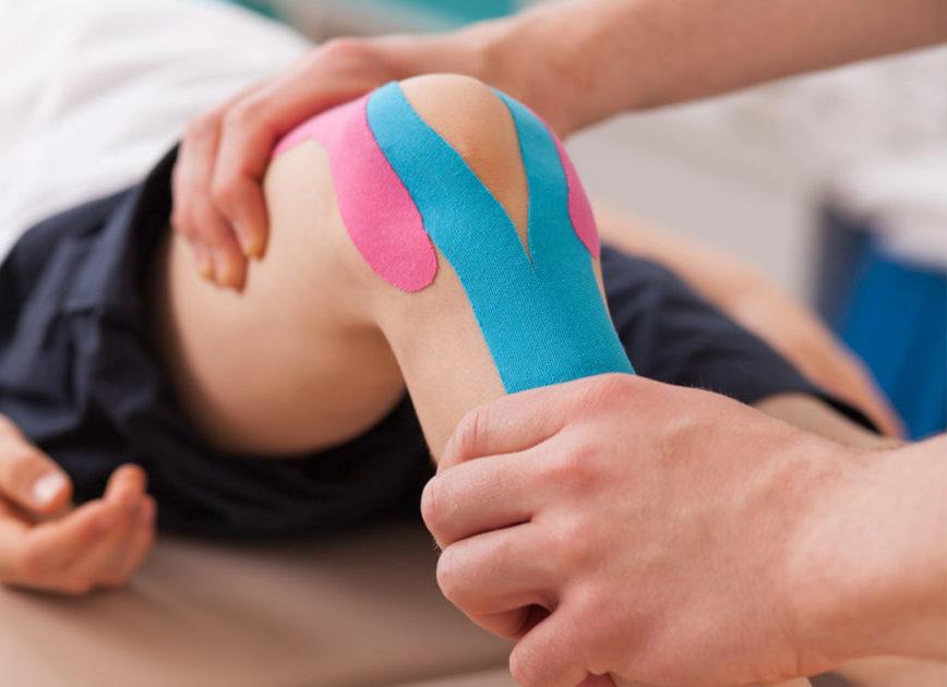 Кинезио тейп для лечения суставов и связок