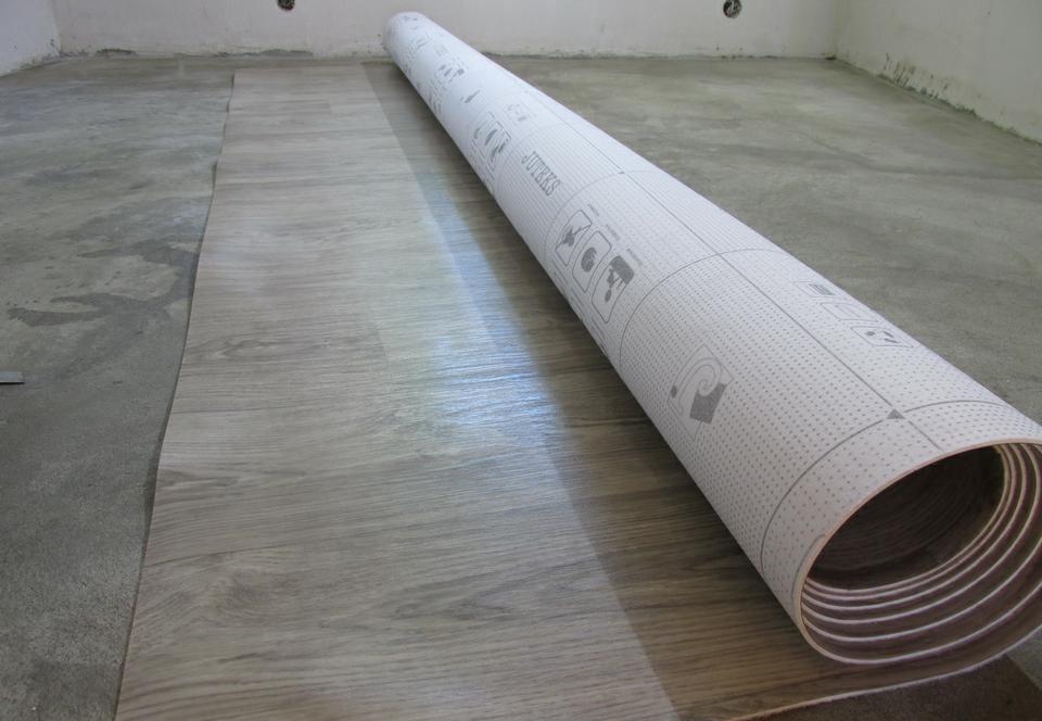 Напольное покрытие на бетон