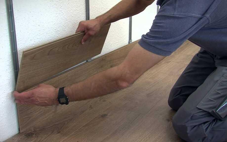 Как прикрепить ламинат на стену своими руками?