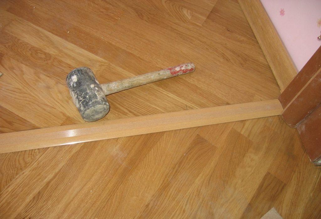 Прижимная планка для напольного покрытия