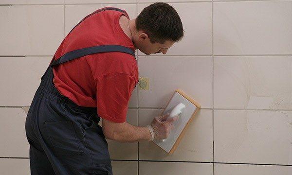 Декорирование плиточных швов затиркой